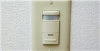 Light switch with motion sensor