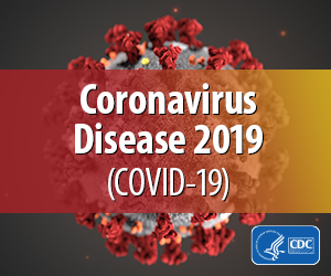 Coronavirus Disease 2019 badge